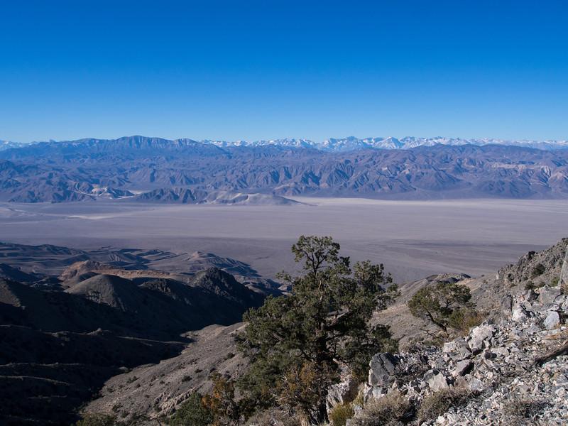 Inyo Mountain Range and Sierra Nevada Range