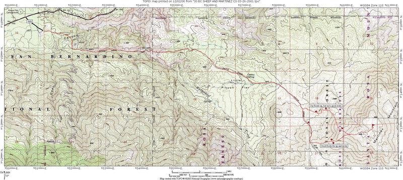 Martinez Mountain 6560 in the Santa Rosas 120206 KathyWing