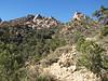 Hiking up Caruthars Canyon