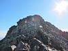 The rocky summit ridge.