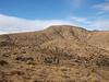 Quail Mountain up ahead - a big gentle summit.