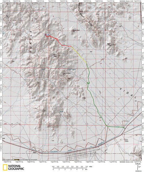 Turtle Mountain Overview Map