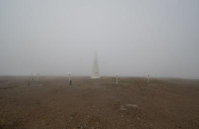 The summit of Orizaba Peak - The highpoint of Catalina Island.