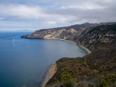 Channel Islands NP - Santa Cruz Island - Scorpion Camp to Chinese Harbor  7.20.14