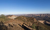 View back to Twin Peaks as I head up the ridge toward Eagle Peak.