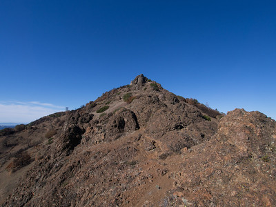 Mount Diablo, Twin Peaks, Eagle Peak, North Peak, and Olympus Mountain - 1.31.14