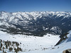 The magnificent Great Western Divide - view southeasterly from Alta Peak