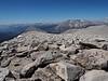 Mount Chamberlin's long gentle summit plateau.