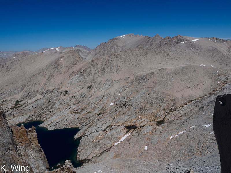 Mount Whitney front and center