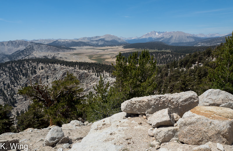 View of Siberian Basin from along the PCT