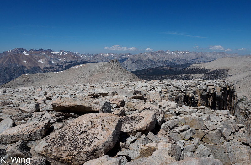 View Northwest from Mount Chamberlin