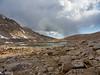 Pretty little lake at the head of Perrin Creek - I camped in near the lake.