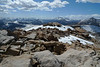 View NW from the summit of Cirque Peak