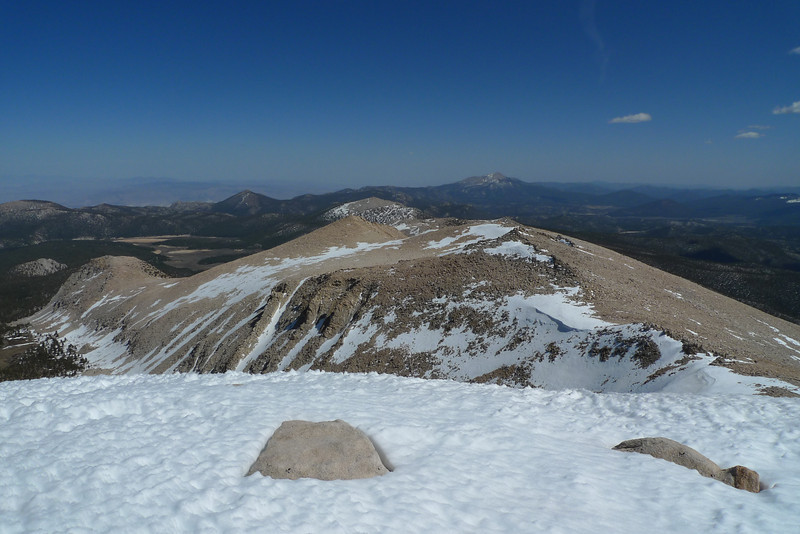 View southerly from Cirque Peak - Olancha Peak in the distance