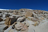 The summit of Cirque Peak ahead