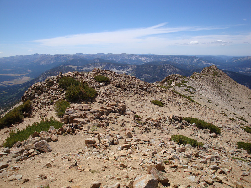 View from the summit of Freel Peak.