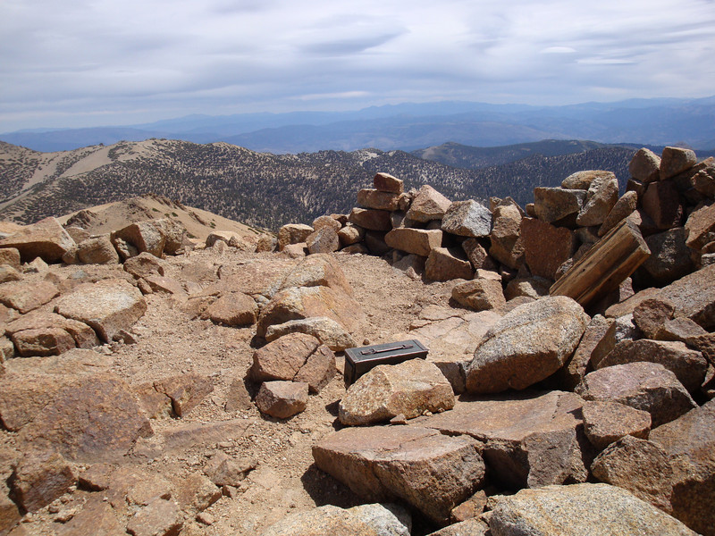 The summit of Freel Peak.