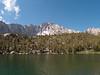 Gilbert Lake with University Peak above it.