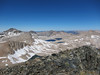 View northwest toward Muir Pass and Wanda Lake from Black Giant.