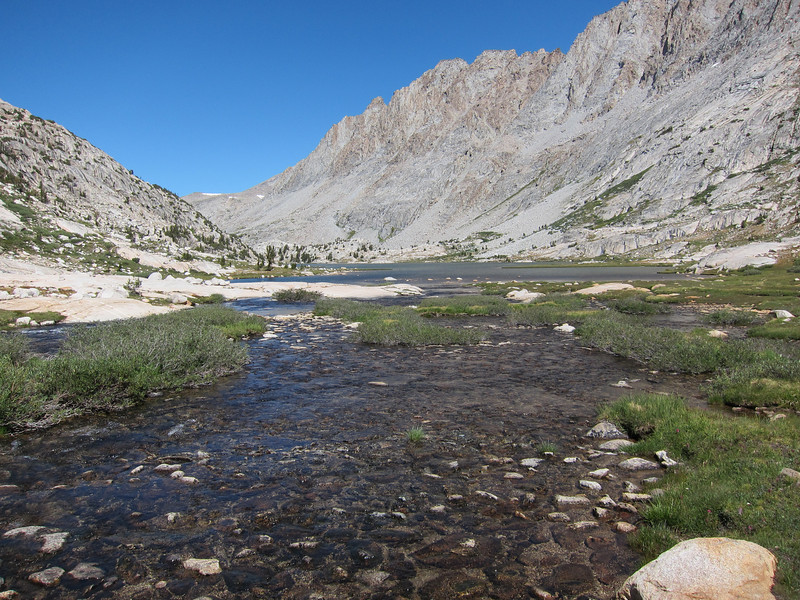 Lots of water in Evolution Basin