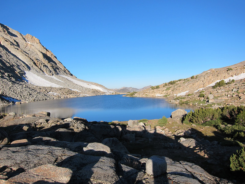 I'm packed up and getting ready to head down to Darwin Bench and then the JMT near Evolution Lake.