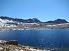 Wanda Lake with Mount Goddard in the distance.