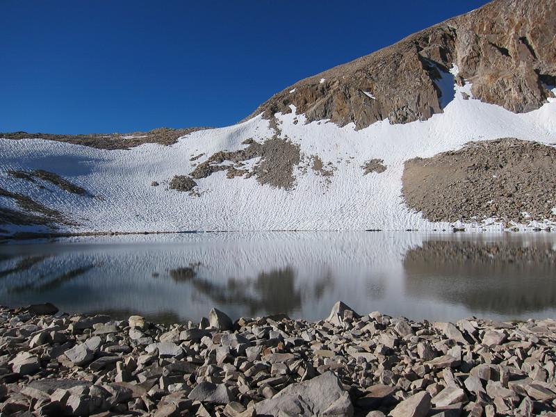 Lake 11939 below Black Giant Pass