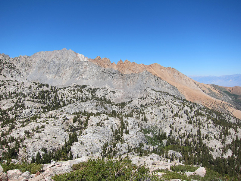Mount Emerson and the Piute Crags