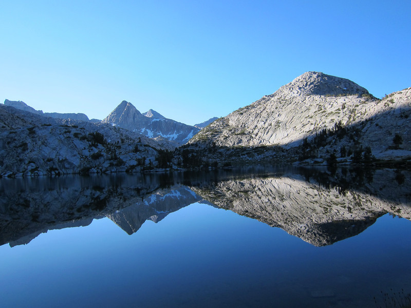Morning at Evolution Lake