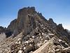 Looking back at Tower Peak as I head down