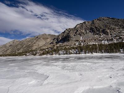 Lundy Lake to Oneida Lake Snowshoe  1.18.15