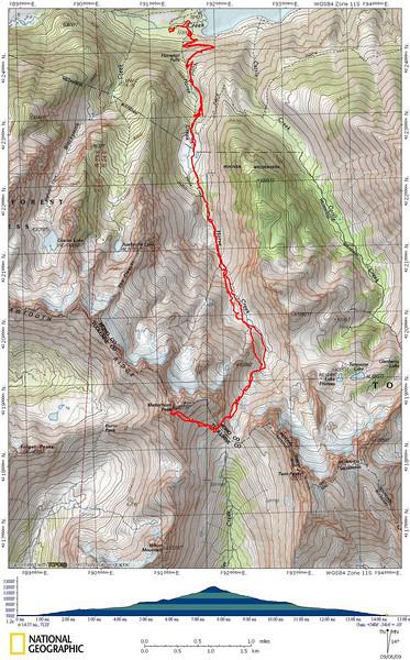 Matterhorn Peak Track