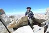Me, next to the summit of Matterhorn Peak.