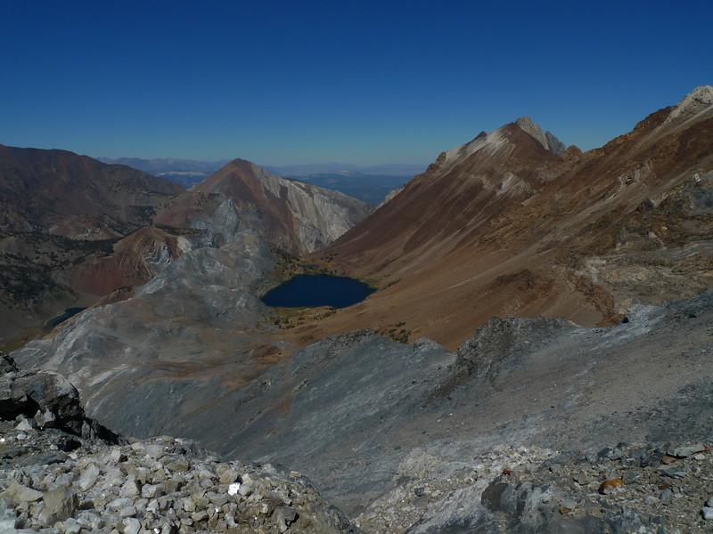 Mount Morrison above Bright Dot Lake
