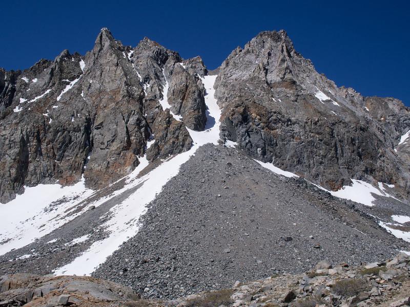 Diamond Peak - NE chute