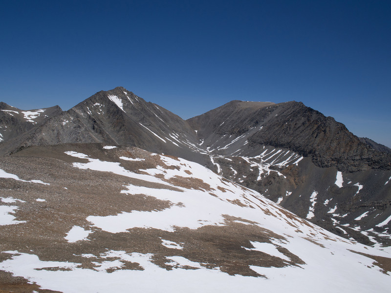 Acrodectes and Baxter Peaks