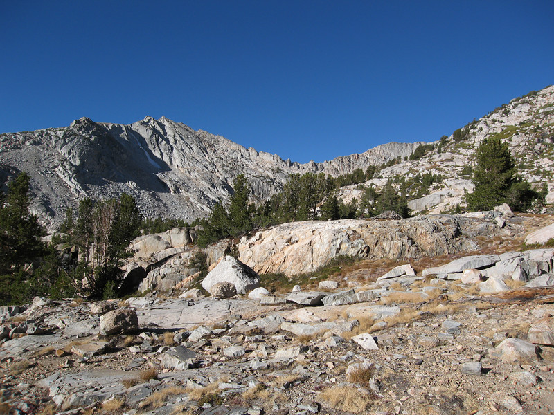 We started out at Sawmill Campground and headed up via the White-Conness Saddle.