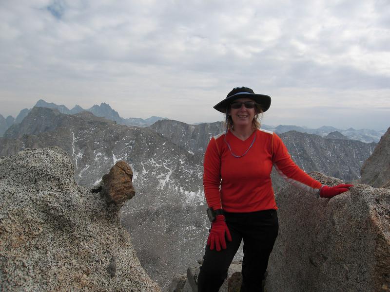 Me, on the summit of Mount Johnson.