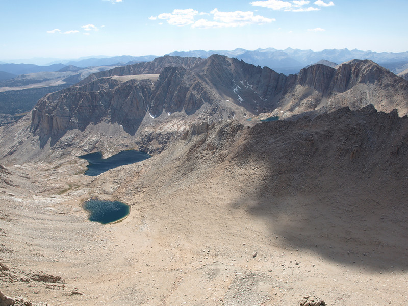 Miter Basin - it's incredibly dry in Miter Basin due to the ongoing drought.