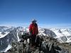 Kathy (me) on the summit of Mount Mary Austin.