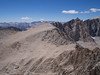 Whitney Pass, Discovery Pinnacle, and Mount Muir