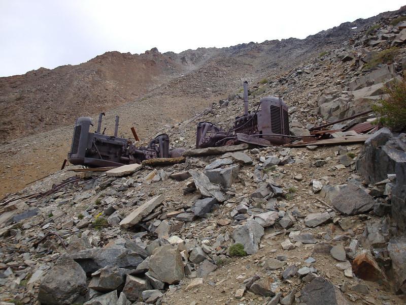more mine trash - Tungstar Mine