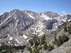 Basin Mountain with Horton Lake below.