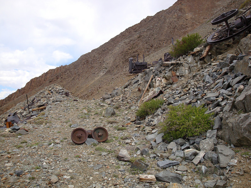 Mine Trash - the trash left around abandoned mines has never held much interest to me.