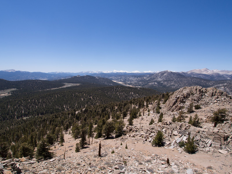 View over to Mineral King area