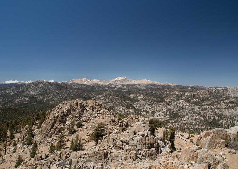 Trail Peak, Cirque Peak, Langley