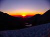 Sunrise along the Glacier Trail
