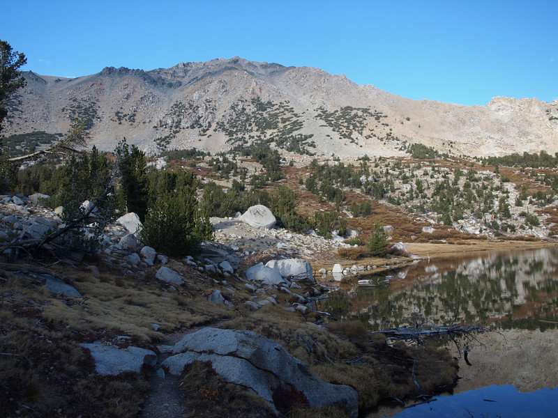 Mount Gould and Kearsarge Pass.