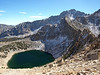 Big Pothole Lake and University Peak in the background.