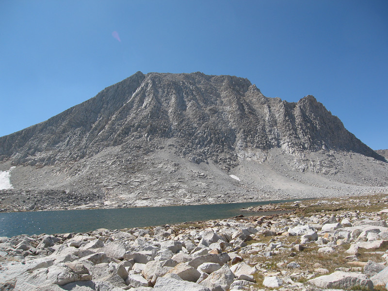 Royce Peak - our peak for the trip.